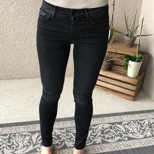 Black MOTHER jeans